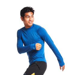 Janji Men's Swift Merino Mock LS