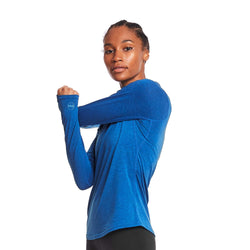 Janji Women's Swift Merino Mock LS