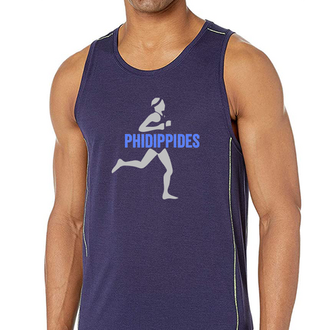 """Brooks Men's Ghost Tank - Phidippides Runner"""