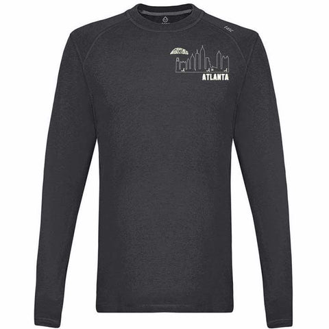 Men's Atlanta Skyline Carrolton Long Sleeve
