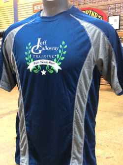 Jeff Galloway's Training Program Short Sleeve Technical Shirt