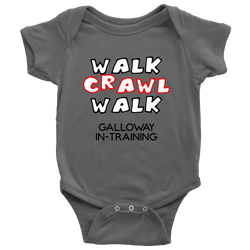 Walk Crawl Walk Baby Onesie