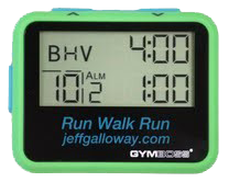 Run Walk Run Timer - Jeff Galloway's Phidippides E-Shop