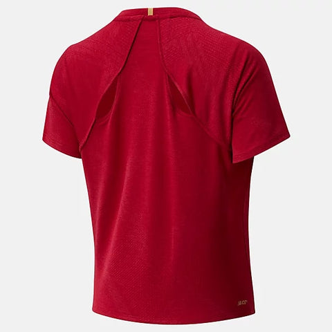 """New Balance Women's Q Speed Fuel Jacquard Short Sleeve"""
