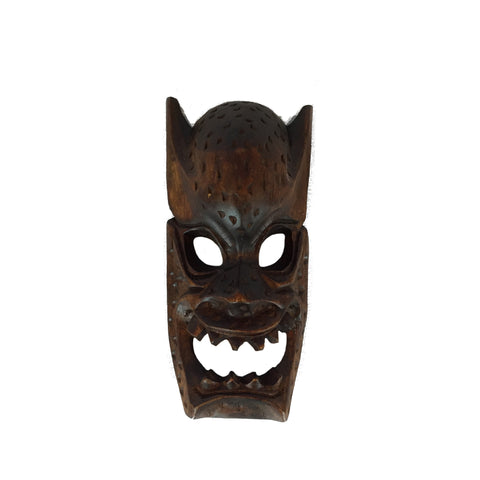 Philippine Hand Carved Wood Demon Masks