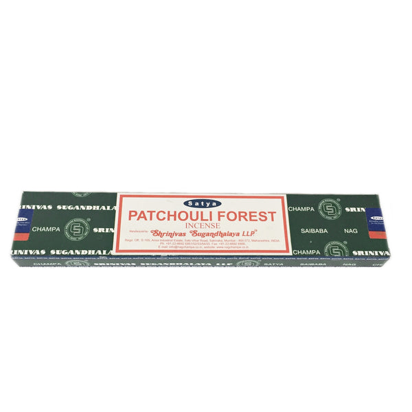 Nag Champa Satya Patchouli Forest Incense (15g)