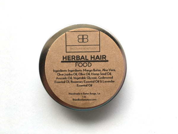 Sample Size - Herbal Hair Food