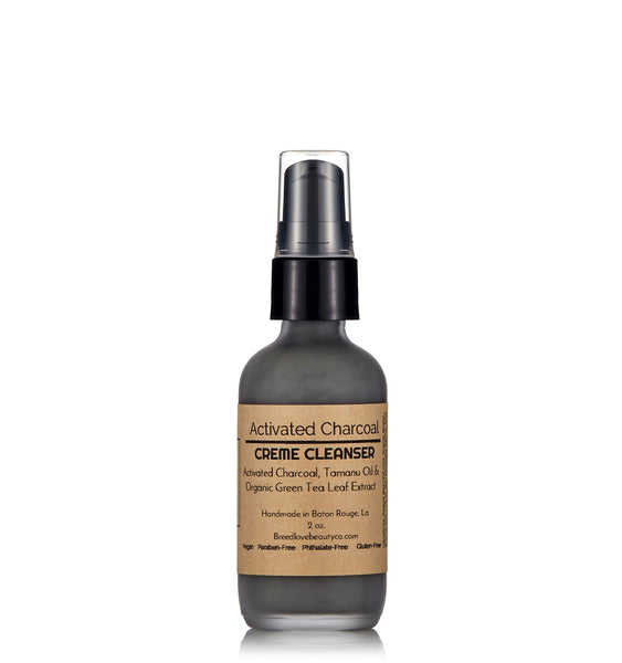 Activated Charcoal Clarifying Creme Cleanser
