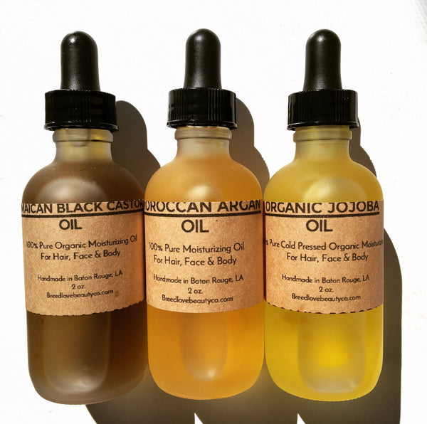 Organic Hair Oils Set