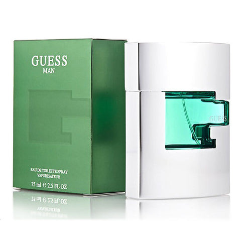 GUESS MAN Cologne by Guess 2.5 oz EDT Men *100% ORIGINAL NEW SEALED BOX*