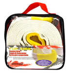 "2"" x 20' 18,000 lb Recovery Strap Bulk w/ Carry Bag"