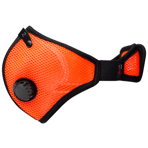 Safety Orange M2 RZ Mask (5 Filter Bonus Pack)