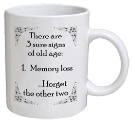 COFFEE MUG - 3 signs