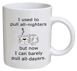 COFFEE MUG - all-dayers