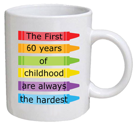 COFFEE MUG - childhood - 60