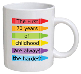 COFFEE MUG - childhood - 70