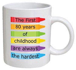 COFFEE MUG - childhood - 80