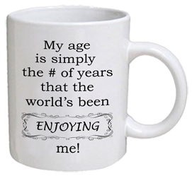 COFFEE MUG - enjoying me
