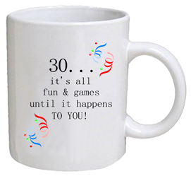 COFFEE MUG - fun & games - 30