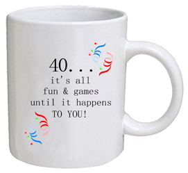 COFFEE MUG - fun & games - 40