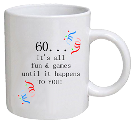 COFFEE MUG - fun & games - 60