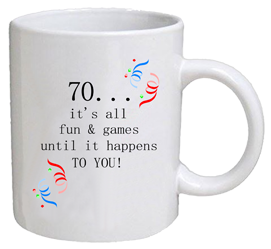 COFFEE MUG - fun & games - 70