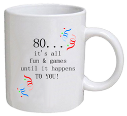 COFFEE MUG - fun & games - 80