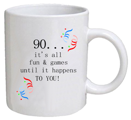 COFFEE MUG - fun & games - 90