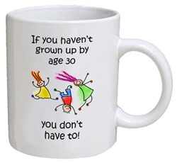 COFFEE MUG - grown up - 30
