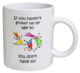 COFFEE MUG - grown up - 50