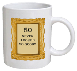 COFFEE MUG - look good - 80