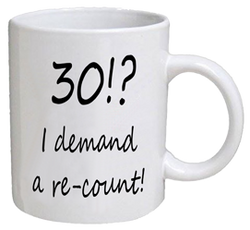 COFFEE MUG - re-count - 30