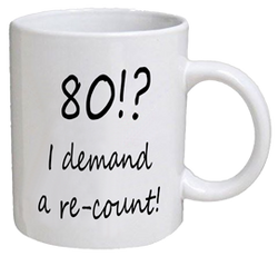 COFFEE MUG - re-count - 80