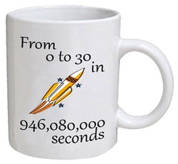 COFFEE MUG - seconds - 30