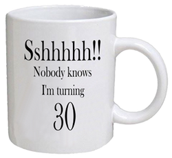 COFFEE MUG - sshhhh - 30