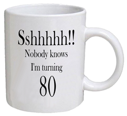 COFFEE MUG - sshhhh - 80