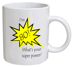 COFFEE MUG - super power - 80