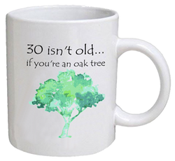 COFFEE MUG - tree - 30