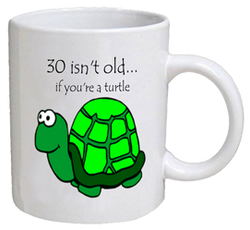 COFFEE MUG - turtle - 30