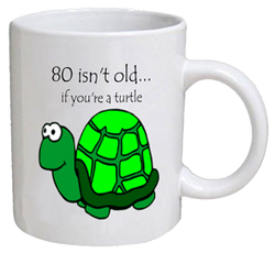 COFFEE MUG - turtle - 80