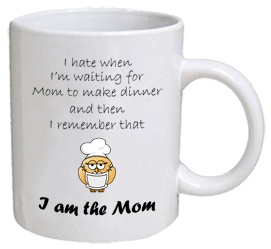 COFFEE MUG - waiting for dinner