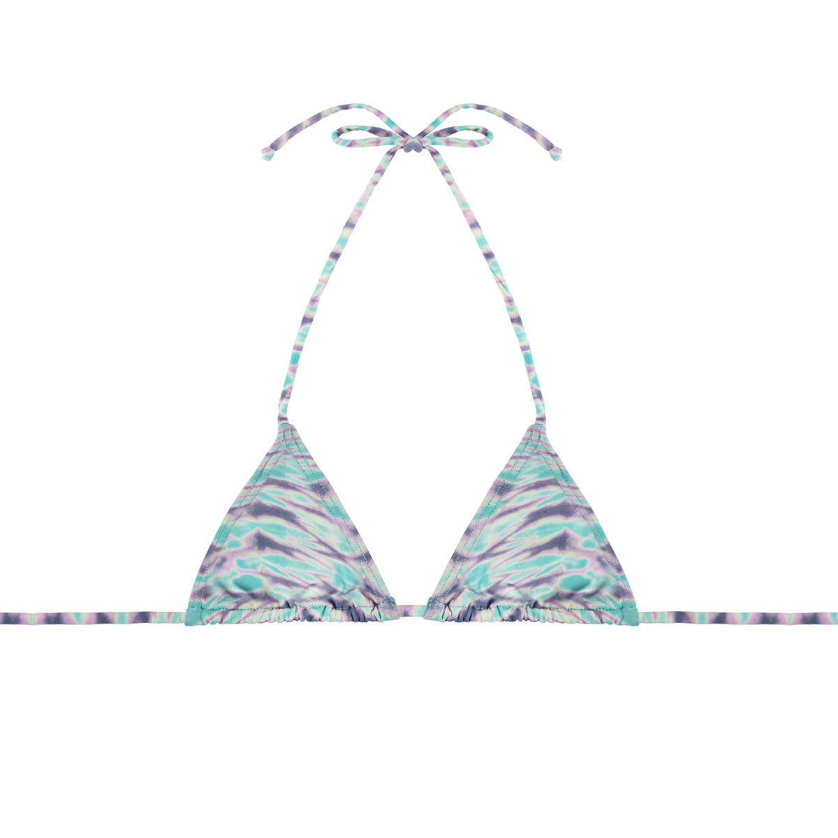 String Tie Triangle Top