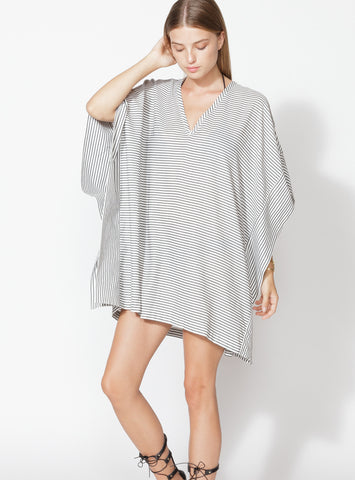 Short Striped Kaftan