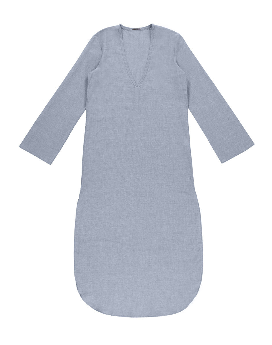 Full Length Tunic Chambray