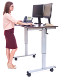 48″ Crank Adjustable Standing Desk