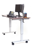 60″ Crank Adjustable Standing Desk