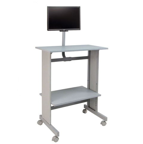 Buddy Standing Workstation with LCD Mount