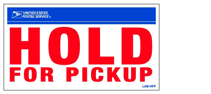 Hold at Post Office