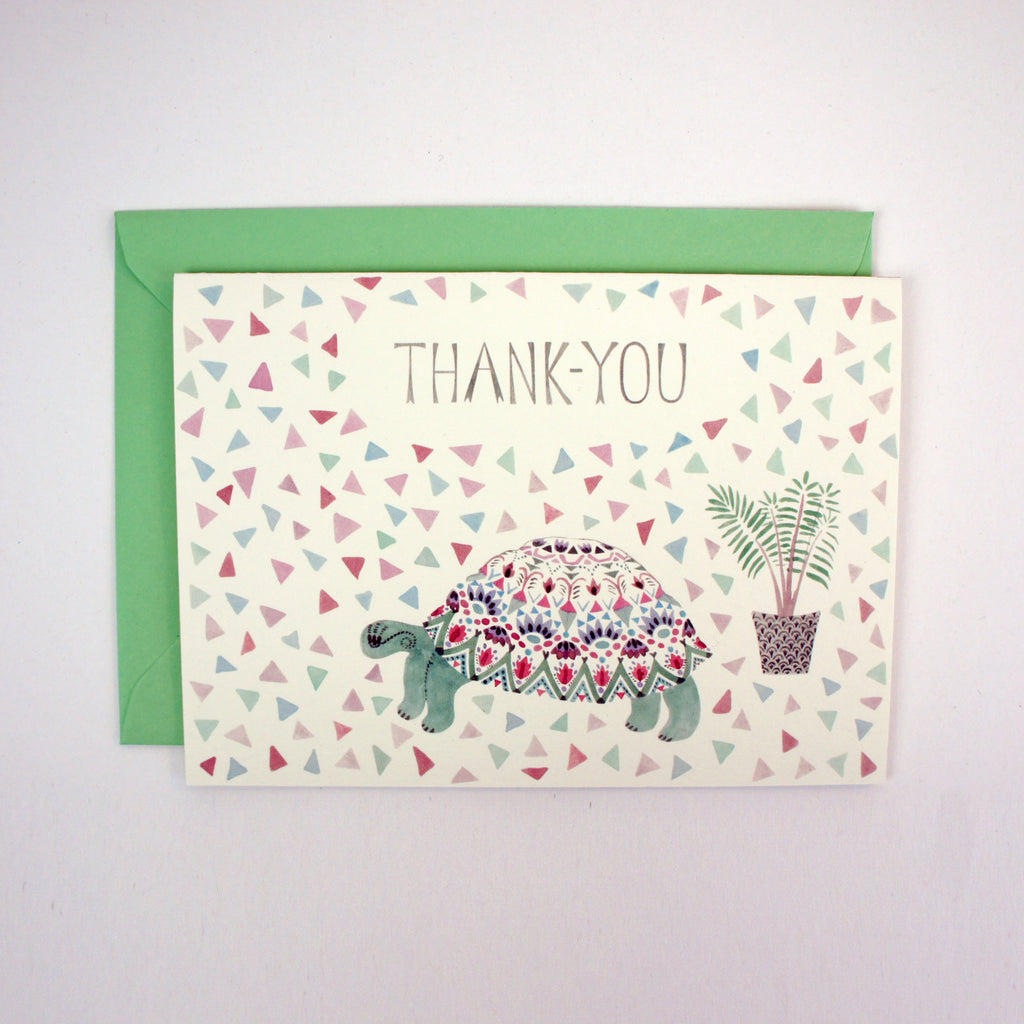 Tortoise Thank-You Card