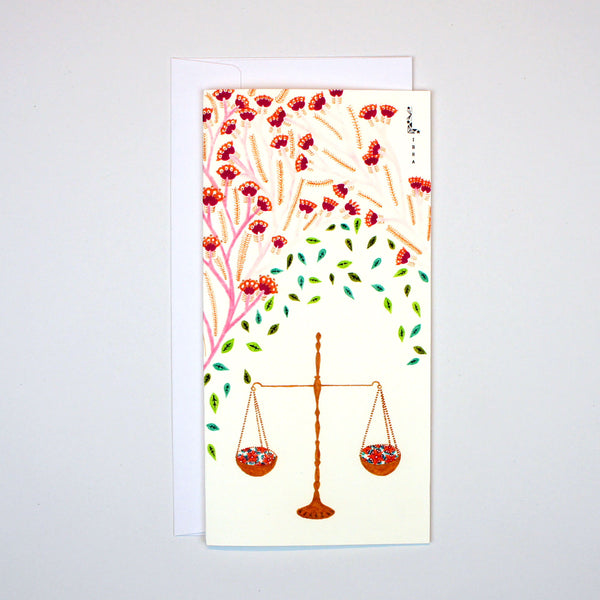 Libra Card (23 Sep - 22 Oct)